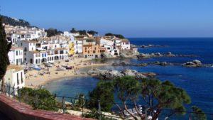 Zicht op Calella de Palafrugell