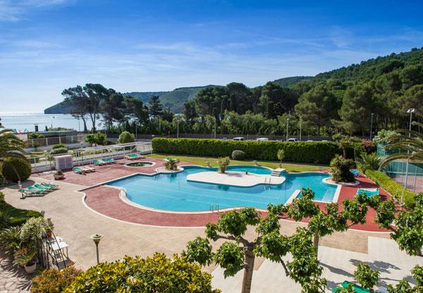 Hotel met zwembad in L'Escala